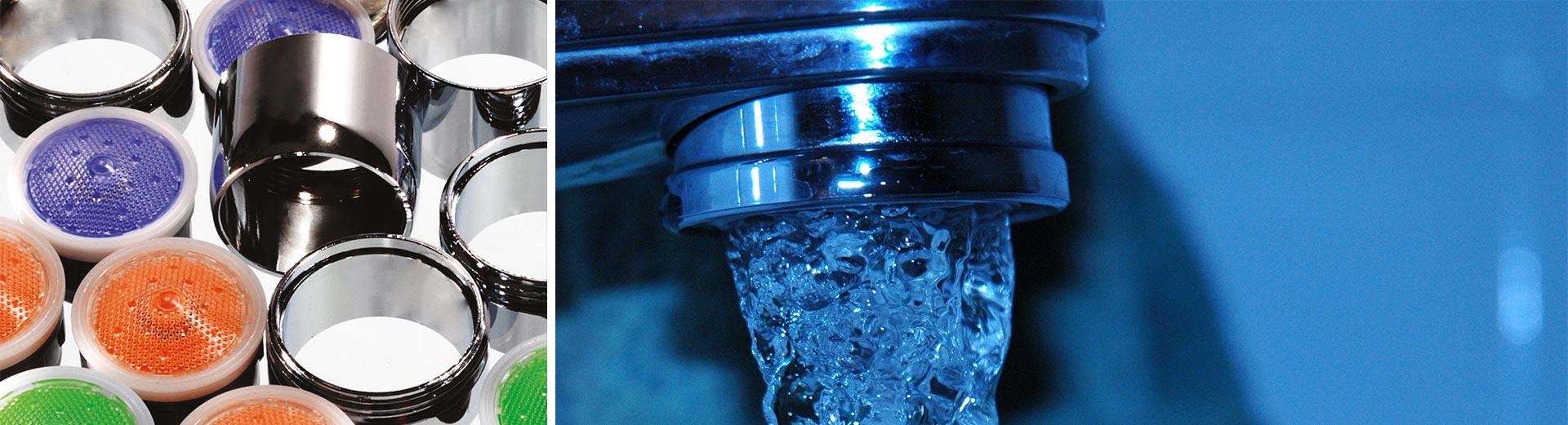 kit de régulation de débit d'eau