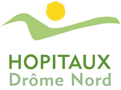 logo hopitaux drôme nord